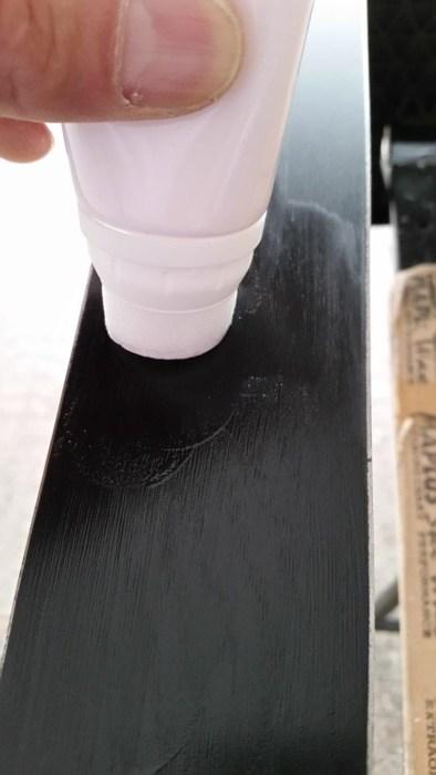 aplikacja smaru Universal Fluoro Cream MAPLUS