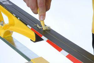oczyszczanie rowka narty biegowej
